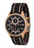 Часы Guardo PREMIUM P11531(m) RgBB браслет кварц. (н.сталь+ каучук)