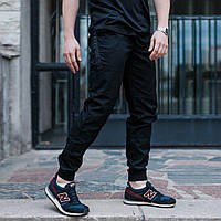 Штани джоггер чоловічі чорні  Мед Макс (Mad Max) від бренду ТУР розмір S, M, L, XL, XXL