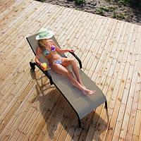 Шезлонг Монреал, Лежак - мебель для бассейна, мебель для сада, мебель для сауны, мебель для пляжа