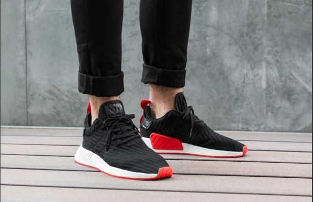 Кроссовки Adidas NMD Man , Black