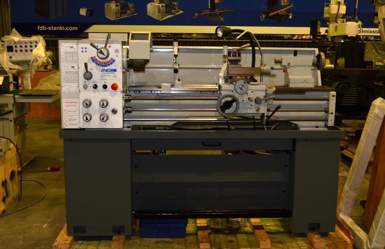 Токарный станок по металлу FDB Maschinen Turner 360x1000W