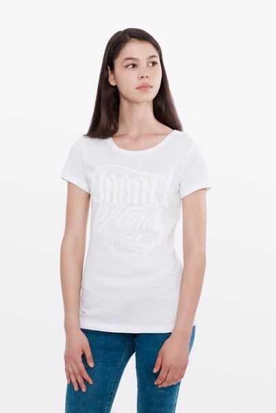 Футболка женская, белая, CHICANO , бренд Urban Planet