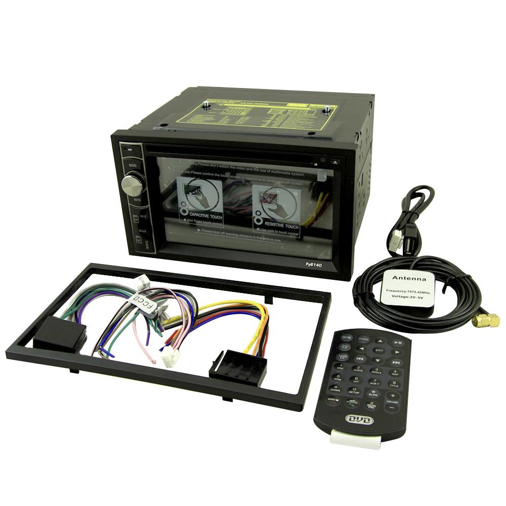 6140 DVD Android 2DIN + GPS магнитола в автомобиль + Рамка автомагнитола 2 дин