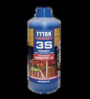 Деревозащитное средство  биозащита для дачной и садовой древесины  (конц.1:9) зеленый 1кг Tytan 3S