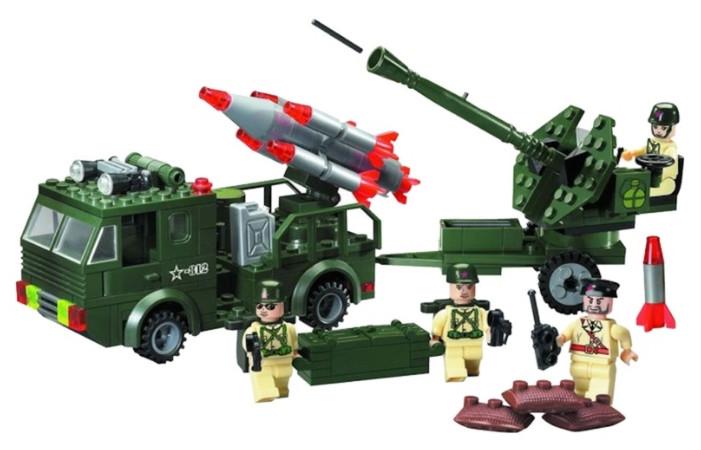 Конструктор Brick 812 Ракетная установка