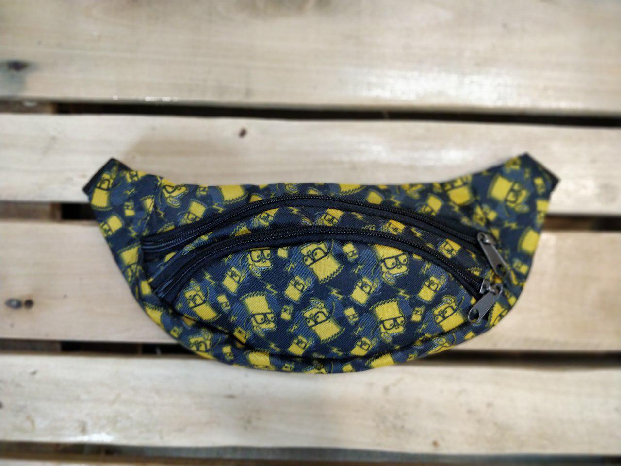 Поясна сумка (бананка) унісекс принт