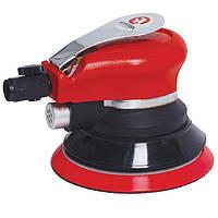Шлифмашина пневматическая эксцентриковая для отделочных работ с запасным диском INTERTOOL PT-1006