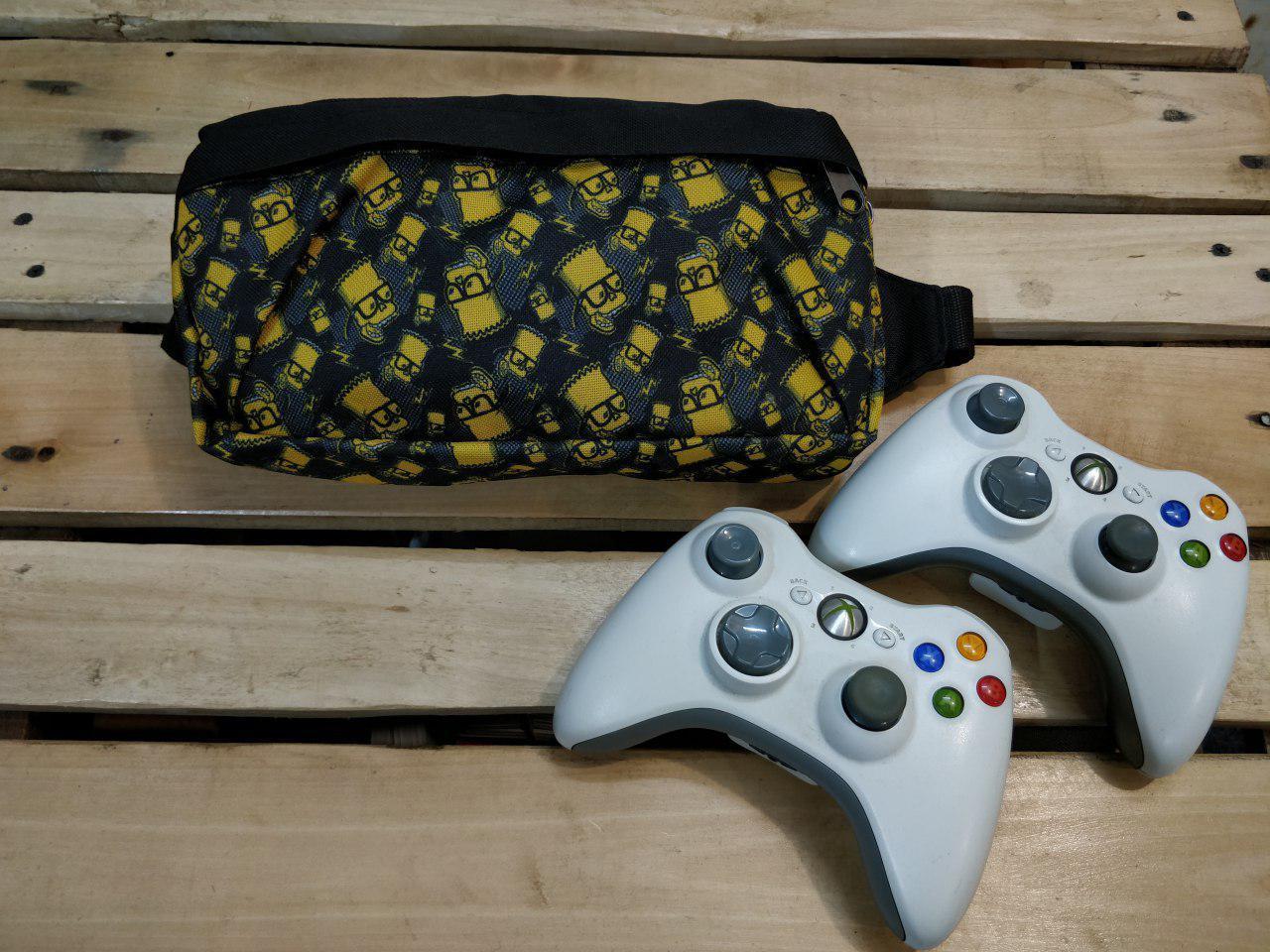 Поясная сумка (бананка) примоугольная унисекс принт
