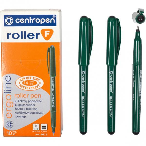Роллер Ergoline черный 4615 F CENTROPEN 1 упаковка (10 штук)                  4615FВL