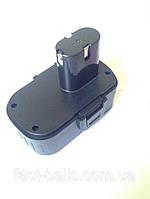 Аккумулятор для шуруповерта 18В, 1A, прямой, фото 1