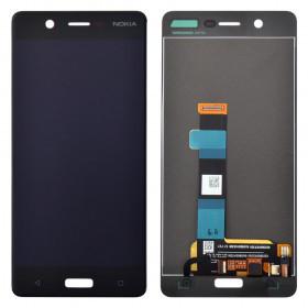 Дисплей з тачскріном Nokia 5 Dual Sim (TA-1053) чорний (HQ)