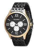 Часы Guardo PREMIUM P11165(m) RgBB браслет кварц.