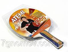 Ракетка для настольного тенниса Atemi 600A арт. 10042