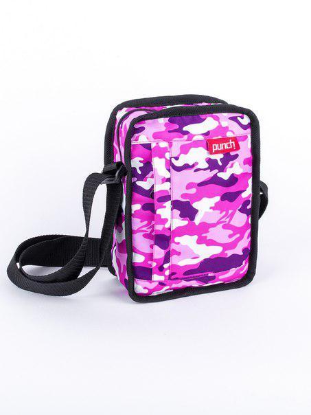 Сумка через плечо розовый PUNCH - Stash, Camo Pink