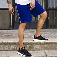 Шорти сині чоловічі зі смужкою Сіджей (CJ) від бренду ТУР розмір XS, S, M, L, XL