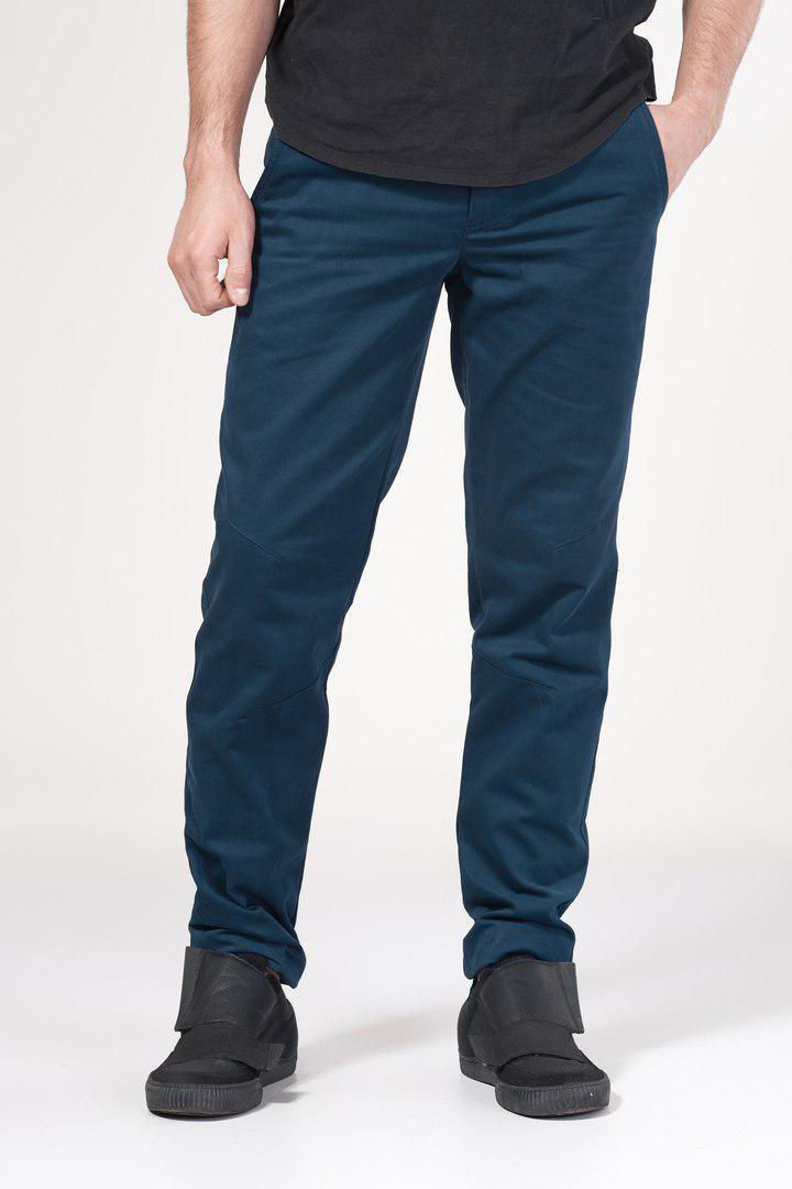 Штаны чиносы мужские синие Скинни Блэк (SKINNY BLACK) от бренда  Feel and Fly размер M, L, XL, XXL