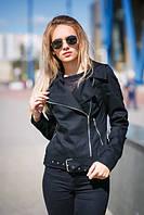Женская весенняя куртка черная Son Black