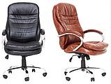 Офисное кресло руководителя Richman Валенсия-В 1220х540х530 мм коричневое, фото 5