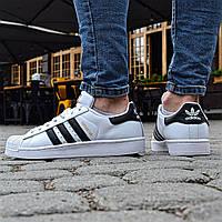 "Adidas Superstar ""Black stripes"", фото 1"