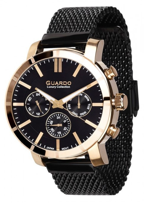 Годинник Guardo S01677(m) GBB браслетV кварц.