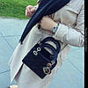 Сумочка женская черная,  mini, фото 6