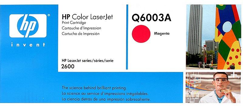 Заправка картриджа Q6003A(Magenta)