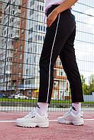 Спортивні жіночі штани чорний Кейдж (Cage) від бренду ТУР S, M, L, XL