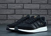 Кросівки чорні чоловічі Адідас Інікі (Adidas Iniki) розмір 40, 41, 42, 43, 44, 45 репліка, фото 1