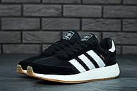 Кроссовки черные мужские Адидас Иники (Adidas Iniki) размер 40, 41, 42, 43, 44, 45 реплика, фото 1