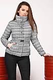Демисезонная куртка клетка размер 44,  X-Woyz LS-8828, фото 2
