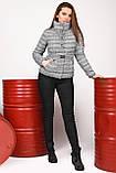 Демисезонная куртка клетка размер 44,  X-Woyz LS-8828, фото 4