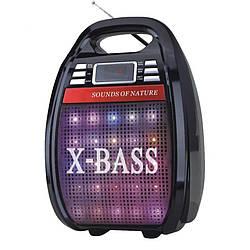 Акустична система GOLON RX-810 BT, Колонка Bluetooth + MP3, радіомікрофон, пульт, світломузика ,радіо.