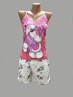 Пижама молодежная с шортиками