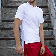 Футболка чоловіча біла подовжена Хитман (Hitman) від бренду ТУР розмір XS, S, M, L, XL