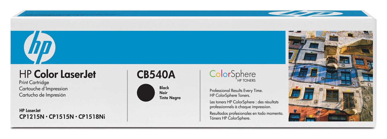 Заправка картриджа CB540A(Black)