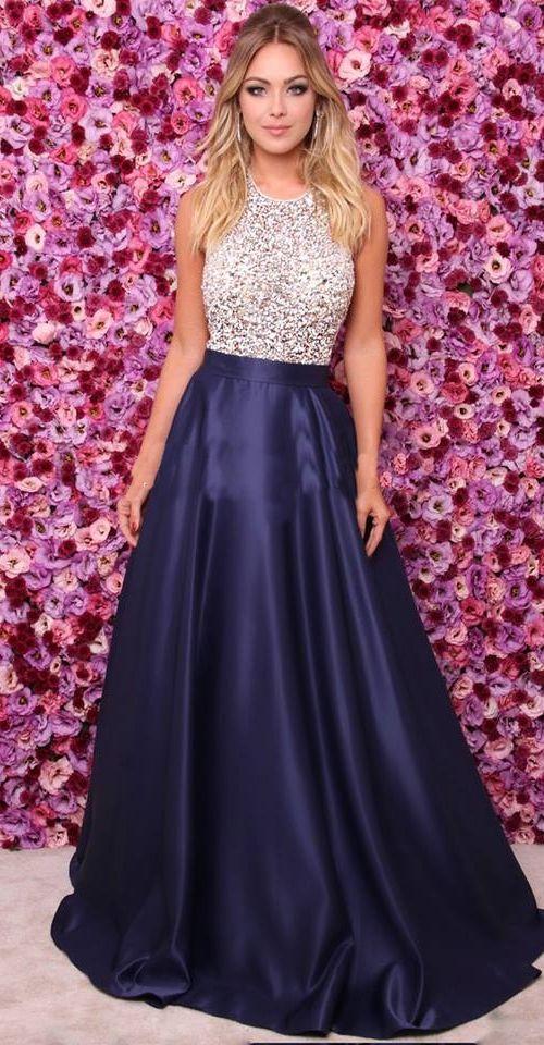 0dec4495275c48b Платье атласное выпускное. Платье атласное с камнями.Красивые вечерние  платья в ...