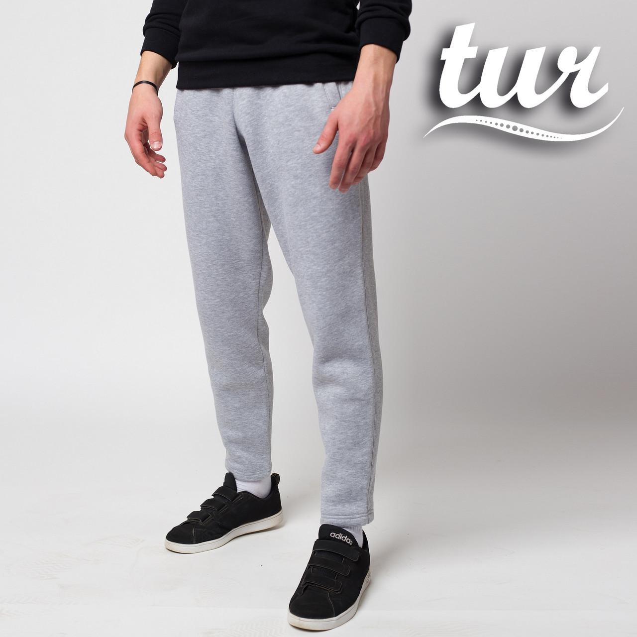 Зимові спортивні штани чоловічі сірі від бренду ТУР модель Сайракс (Cyrax) розмір XS, S, M, L, XL, XXL