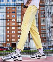 Спортивні штани зі смужками чоловічі жовті від бренду ТУР модель Кейдж (Cage) розмір S, M, L, XL, фото 1