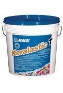 Двухкомпонентный полиуретановый клей  10  кг,Keralastic Т/10 WH
