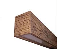 L-Wood 1000 23/35/40W деревянный светодиодный линейный светильник