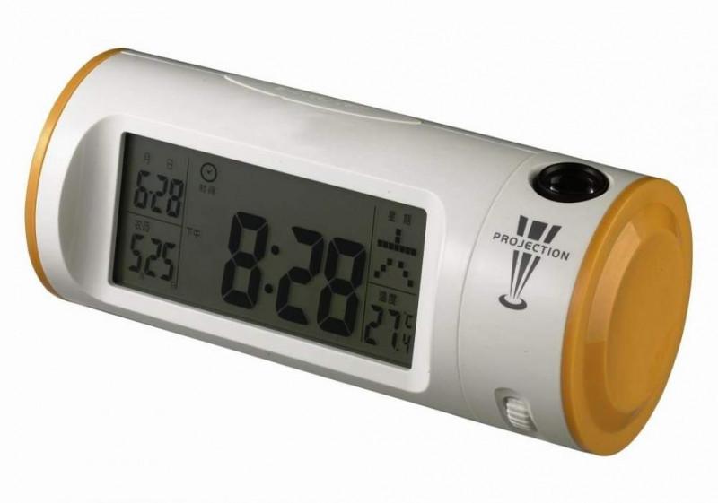 Часы аплодисменты цифровые с проектором 8097