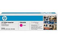 Заправка картриджа CB543A(Magenta)