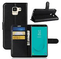 Чехол-бумажник для Samsung Galaxy J6 2018 J600 j600F
