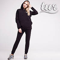 Зимовий спортивний костюм жіночий чорний від бренду ТУР розмір S, M