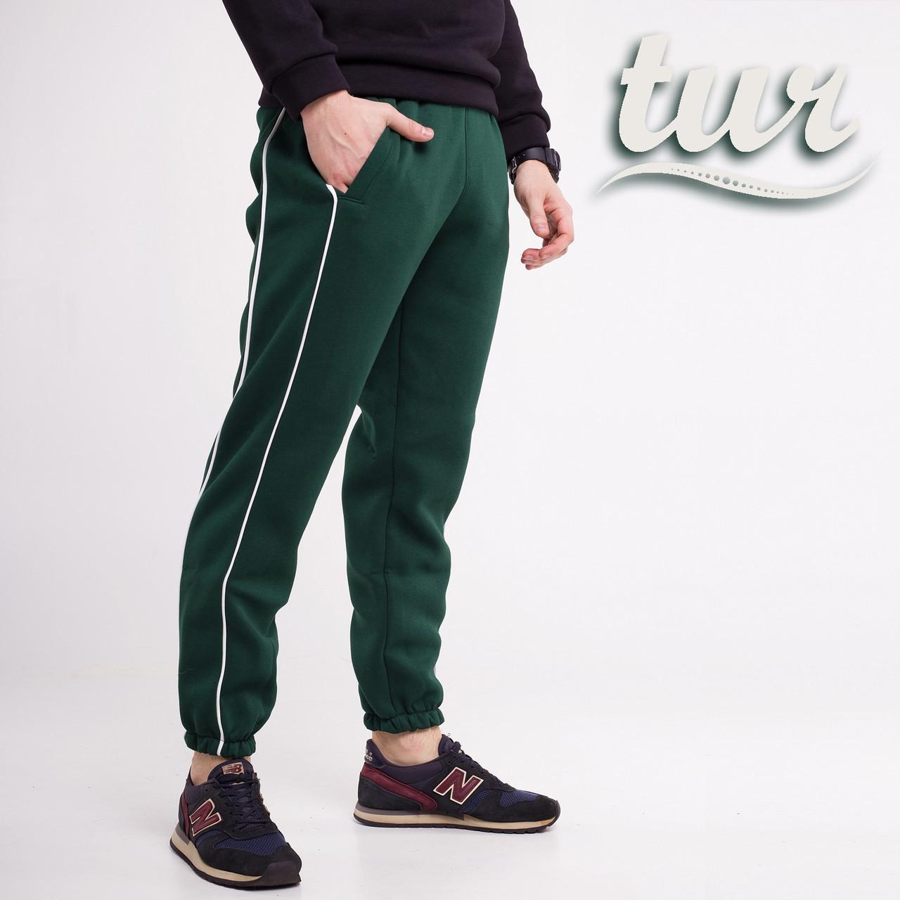 Зимові спортивні штани чоловічі зелені від бренду ТУР модель Сектор (Sector) розмір XS, S, M, L, XL, XXL