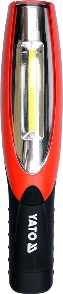 Светодиодный аккумуляторный фонарь 2 в 1 YATO YT-08502