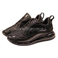 Кроссовки Nike AIR Max 720 All Black (Реплика ААА) Бесплатная доставка 2b548238a497e