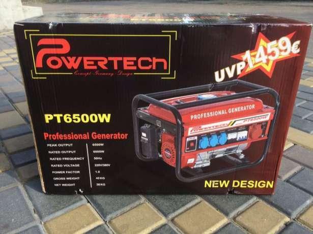 Трехфазный генератор из Германии  Powertech 6.5 Квт