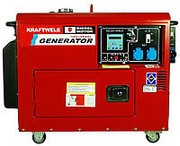 Дизельный однофазный генератор 9.8 Квт с автоматикой(Германия), фото 1