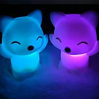 """Детский светодиодный ночник 3D - """"Fox"""""""